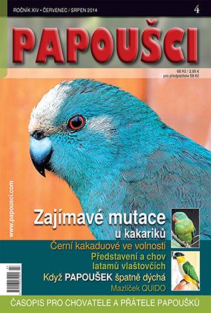 Odkaz na článek v časopisu Papoušci.(PDF)